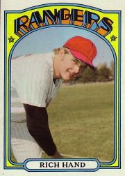1972 Topps Baseball Cards      317     Rich Hand